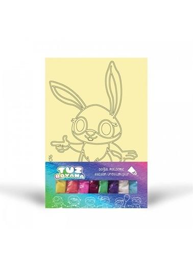 Artikel Tavşan-1 Tuz Boyama Renkli